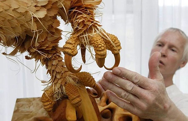 ringing cedars. Cedar Sculpture