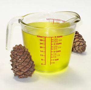 antiparasitic properties of Cedar Nut Oil