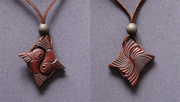 Cedar amulet 142g according to tradition any bond consists of two parts fastened by a knot the yin yang bonded amulet is the ancient sign of the unity of the female aloadofball Image collections