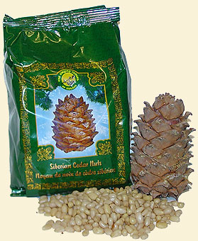 Cedar Nuts, shelled, 17.6 oz