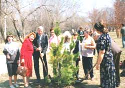 Planting of the Cedar Alley