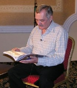 Vladimir Megre reading the Space of Love Magazine